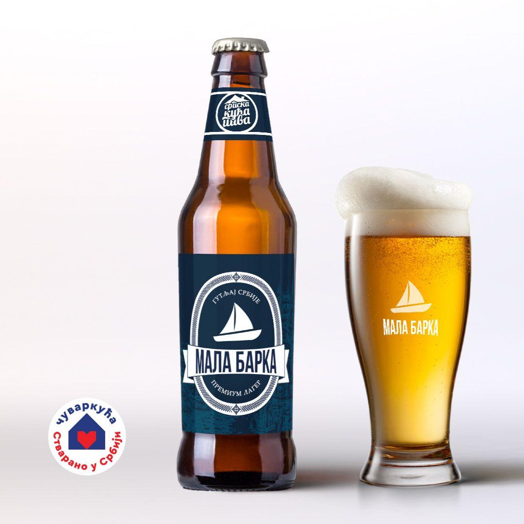 Zanatsko pivo Mala barka